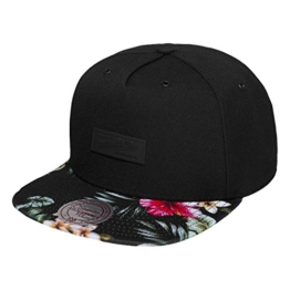 Mitchell & Ness Floral Infill Snapback MN OWN EU856 Schwarz, Size:ONE SIZE -
