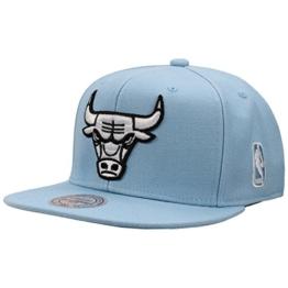Mitchell & Ness Herren Caps / Snapback Cap Rainbow NBA Chicago Bulls blau Verstellbar -