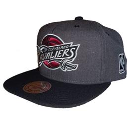 Mitchell & Ness Herren Caps / Snapback Cap G3 Cleveland Cavaliers grau Verstellbar -