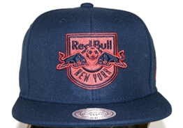 Mitchell & Ness Herren Caps / Snapback Cap Mitchell & Ness Solid Teams Siren New York Red Bulls Snapback Cap -
