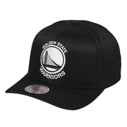 Mitchell & Ness Herren Caps / Snapback Cap 110 Golden State Warriors schwarz Verstellbar -
