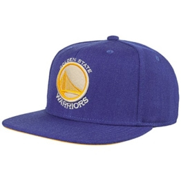 Mitchell & Ness Herren Caps / Snapback Cap NBA Team Heather blau Verstellbar -