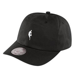 Mitchell & Ness INTL053 Snapback Cap NBA LOGOMAN Schwarz, Size:ONE SIZE -