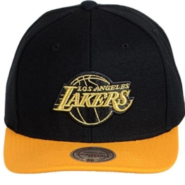 Mitchell & Ness LA Los Angeles Lakers NBA Baroque Strapback Cap Kappe Basecap -