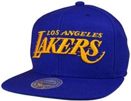 Mitchell & Ness Lakers Herren Snapback Cap Lila -