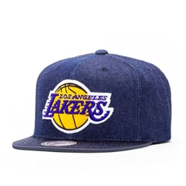 Mitchell & Ness Los Angeles Lakers Raw Denim Cap denim -