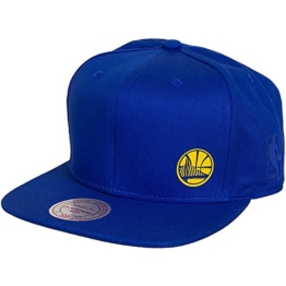Mitchell & Ness NBA Absolut Golden State Warriors Snapback Cap (one size, royal) -
