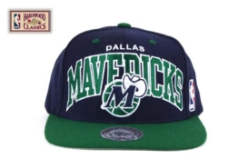 Mitchell & Ness NBA Arch Dallas Mavericks Cap -