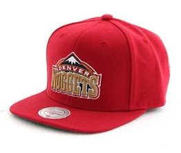 "Mitchell & Ness ""NBA Denver Nuggets Wool Solid"" Snapback Cap -"