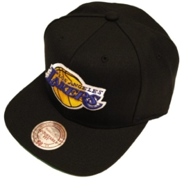 Mitchell & Ness NBA Los Angeles Lakers Wool Solid Snapback Cap NZ979 Basecap -