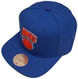 Mitchell & Ness NBA New York Knicks Wool Solid NZ979 Snapback Cap -