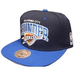 Mitchell & Ness NBA Oklahoma City Thunder Team Arch Snapback Cap NA80Z Kappe -