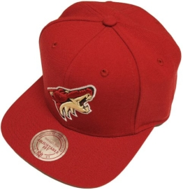 Mitchell & Ness NHL Phoenix Coyotes Wool Solid NZ980 Snapback Cap -