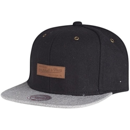 Mitchell & Ness Snapback Cap - PRIME Brand Logo schwarz -