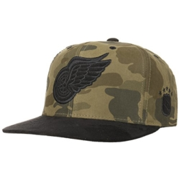 Mitchell & Ness Snapback Cap Woodland Camo D. Redwings camo/blk -