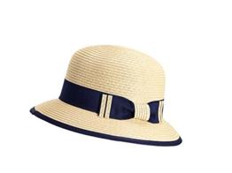 Miuno® Damen Sonnenhut Partyhut Stroh Hut Schleife Glocke H51060 (Beige) -