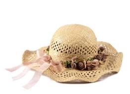 Miuno® Damen Strohhut Schlapphut Sommer Hut aus Raffia Stroh H51005 -