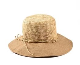 Miuno® Damen Strohhut Sommer Hut aus Raffia Stroh H51038 -