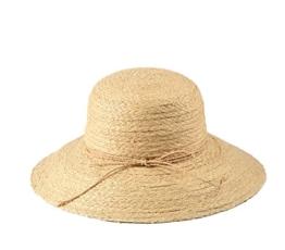 Miuno® Damen Strohhut Sommer Hut Glocke aus Raffia Stroh H51012 -