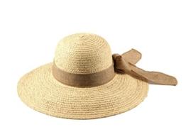Miuno® Damen Strohhut Sommer Hut aus Raffia Stroh H51033 -
