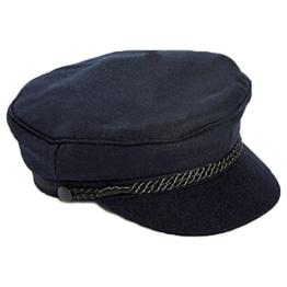 Modas Elbsegler - Traditionelle maritime Mütze, Größe:58 -
