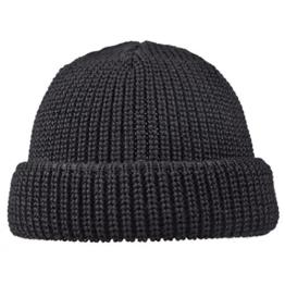 Modas Schippermütze - kurz, Farbe:schwarz -