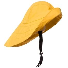 Modas Südwester - klassischer Regenhut, Farbe:gelb, Größe:S -