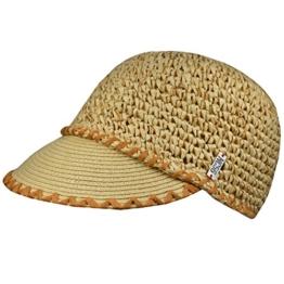 NC56 - Damen - Strandkappe Sommercap Schirmkappe Sonnenschutzkappe - knautschbar - One size -