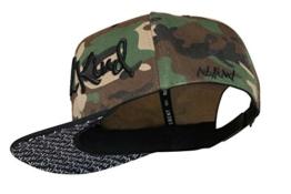 Nebelkind Camouflage Snapback Cap mit verdrehtem Schirm onesize unisex -