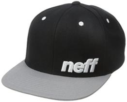 Neff Daily Cap schwarz/grau/weiß Einheitsgröße schwarz/grau -