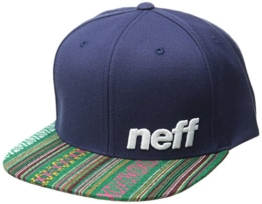 Neff Daily Pattern Cap Lime/Black Einheitsgröße Navy Native -