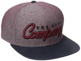 Neff The Company Cap rot/marineblau Einheitsgröße Rouge/Marine -