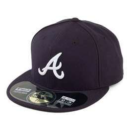 New Era 59FIFTY Atlanta Braves Baseball Cap - on Field - Away - 7 -