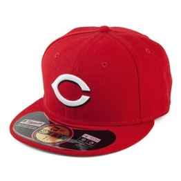 New Era 59FIFTY Cincinnati Reds Baseball Cap - On Field MLB - Home - 7 1/8 -