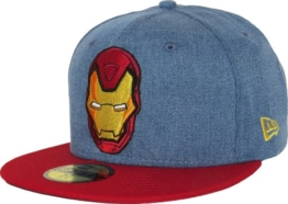 New Era 59Fifty Denim Hero Ironman 5950 Cap (Size 7+1/4 / 57.7cm) -