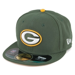 New Era 59FIFTY Green Bay Packers Cap - On Field - 7 1/4 -