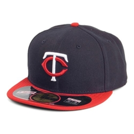 New Era 59FIFTY Minnesota Twins Baseball Cap - On Field MLB - Away - 7 3/8 -