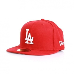 New Era 59Fiftys Cap - LA DODGERS - Scarlet-White (7 1/2) -