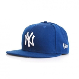 New Era 59Fiftys Cap - NY YANKEES - Royal-White, Size:7 1/4 -
