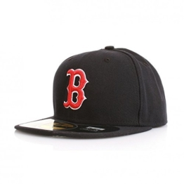 New Era Authentics Cap - BOSTON RED SOX - Navy-Red, Size:7 -