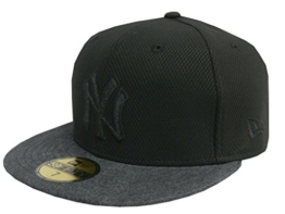 NEW ERA Baseball Cap 59FIFTY Neyyan Denim black graphite Gr. 7 1/8 -