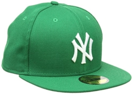 "NEW ERA Cap ""BASIC NY YANKEES"" green Größe 7 1/4 -"