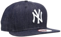 New Era Cap Denim Basic 9Fifty Neyyan, Navy/White, S/M, 11066060 -