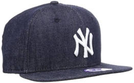 New Era Cap K Denim Base 9Fifty Neyyan, Navy/White, One size, 11066059 -