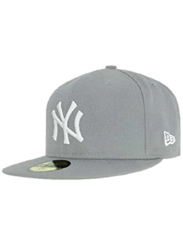 "New Era Cap MLB Basic NewYork Yankees - Graphit/White 6 7/8"" 55cm -"