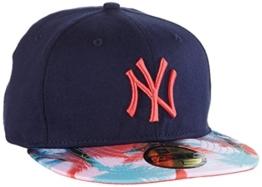 New Era Cap MLB New York Yankees Miami Vibe, Navy, 712, 80127112 -