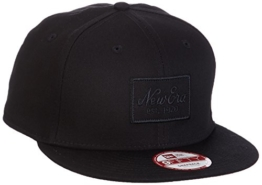 New Era Cap NE Tonal, Black, S/M, 11209931 -