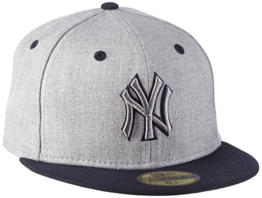 New Era Cap Top New York Yankees, Official Team Colour/ Heather Gray, 6 7/8, 80212895 -