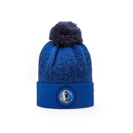 New Era Dallas Mavericks NBA '17 Pom Beanie Mütze, royal blue -
