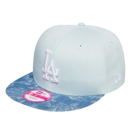 New Era Damen Caps / Snapback Cap Denim Bloom LA Dodgers blau Verstellbar -